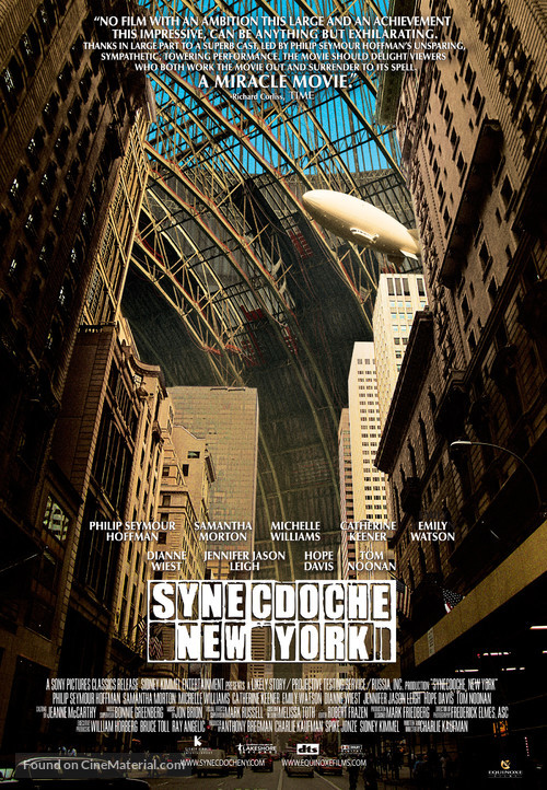 Synecdoche, New York - Theatrical movie poster