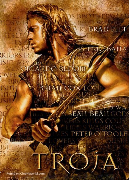Troy - Polish DVD movie cover