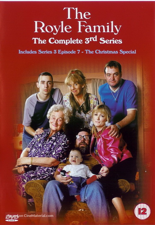 """The Royle Family"" - British Movie Cover"