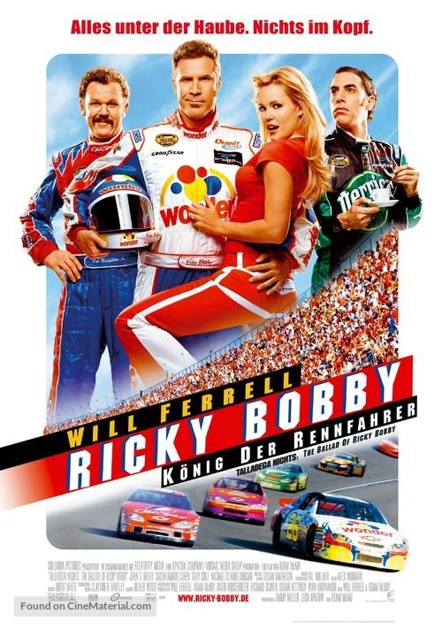 Talladega Nights: The Ballad of Ricky Bobby - German Movie Poster