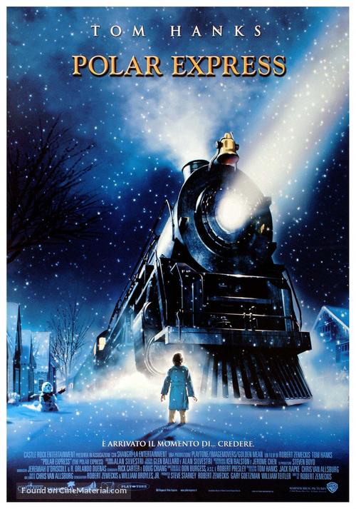 The Polar Express - Italian Theatrical movie poster