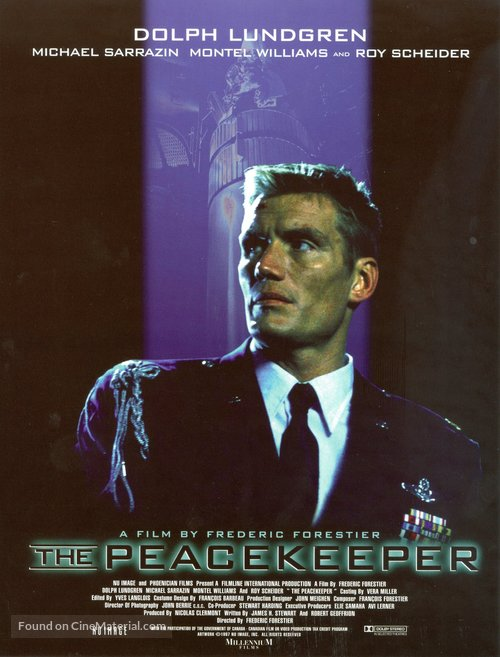 The Peacekeeper - Movie Poster