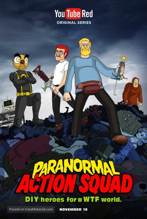 """""""Paranormal Action Squad"""" - Movie Poster"""