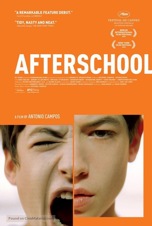 Afterschool - Movie Poster