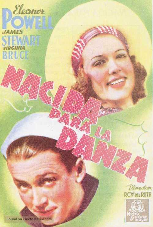 Born to Dance - Spanish Movie Poster