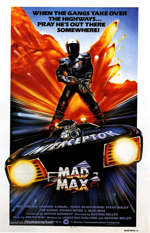 Mad Max - British Movie Poster