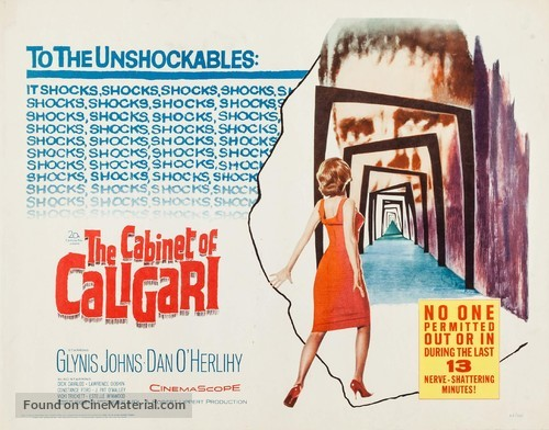 The Cabinet of Caligari - Movie Poster