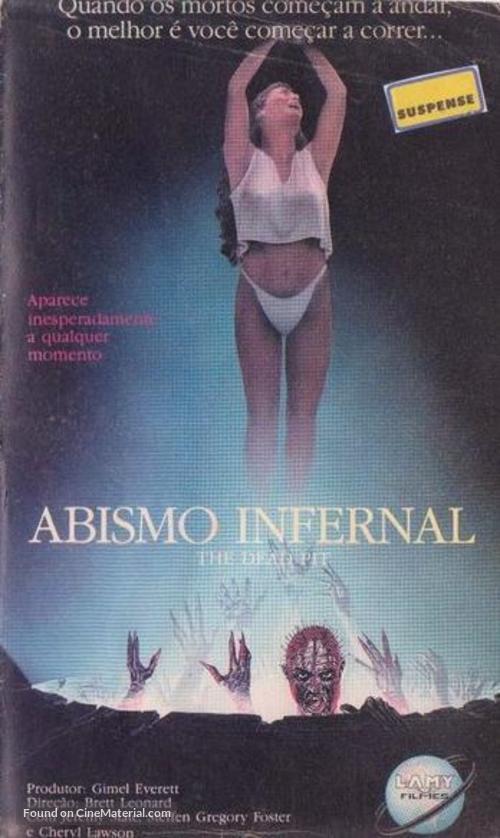 The Dead Pit - Brazilian Movie Cover