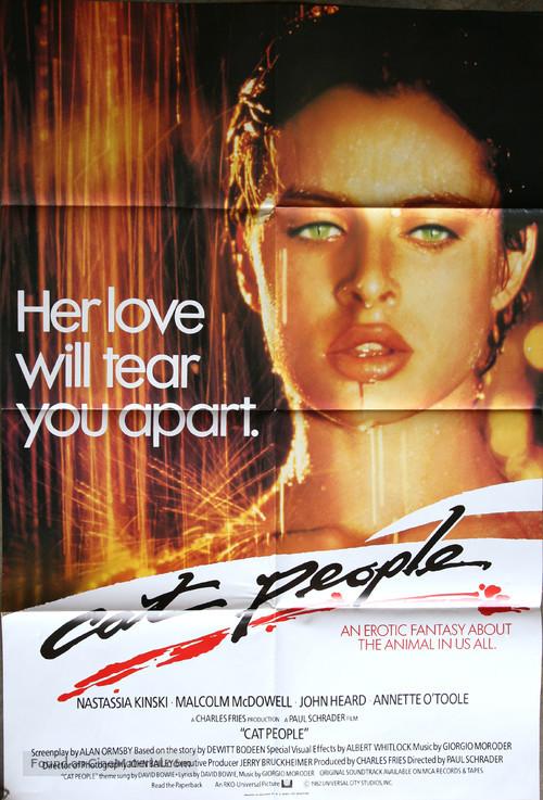 Cat People - British Movie Poster
