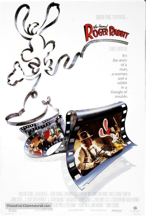 Who Framed Roger Rabbit - Movie Poster