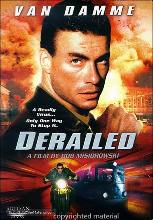 Derailed - DVD cover