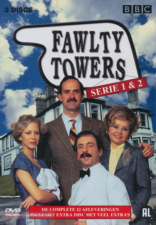 """""""Fawlty Towers"""" - Dutch Movie Cover"""
