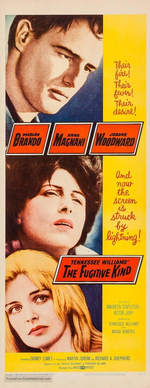 The Fugitive Kind - Movie Poster