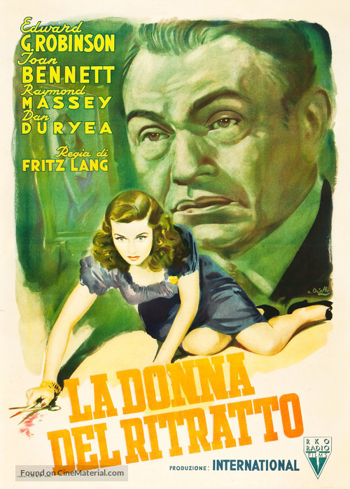 The Woman in the Window - Italian Movie Poster