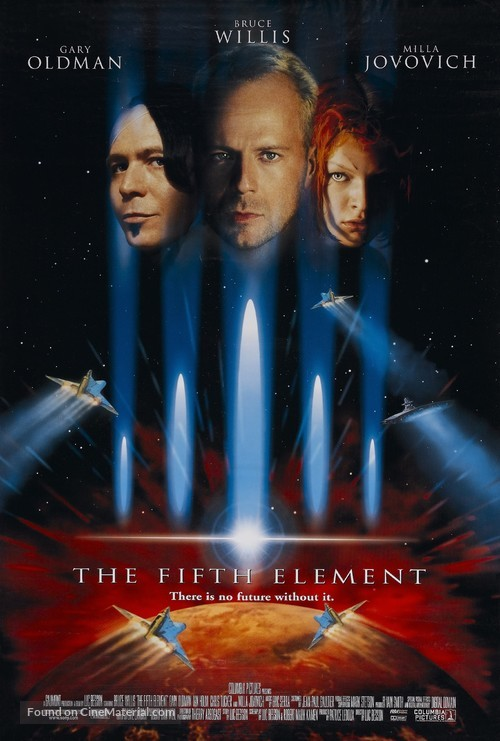 The Fifth Element - Theatrical poster
