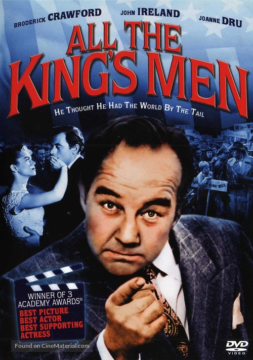All the King's Men - DVD movie cover