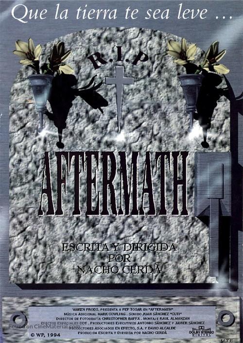 Aftermath - Spanish poster