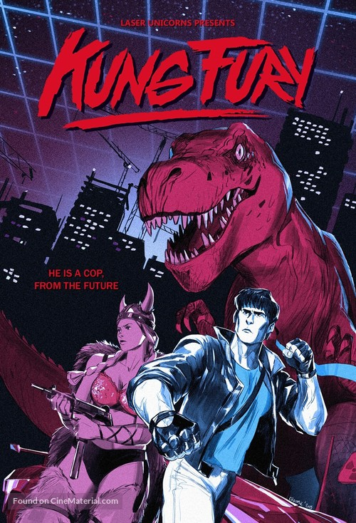 Kung Fury - Swedish Movie Poster