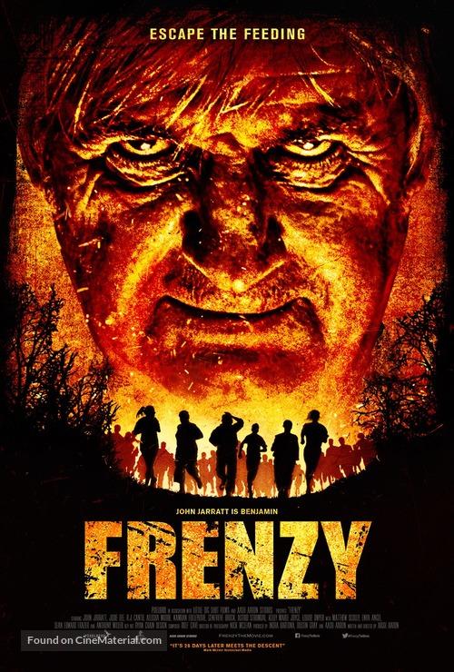 Frenzy - Australian Movie Poster