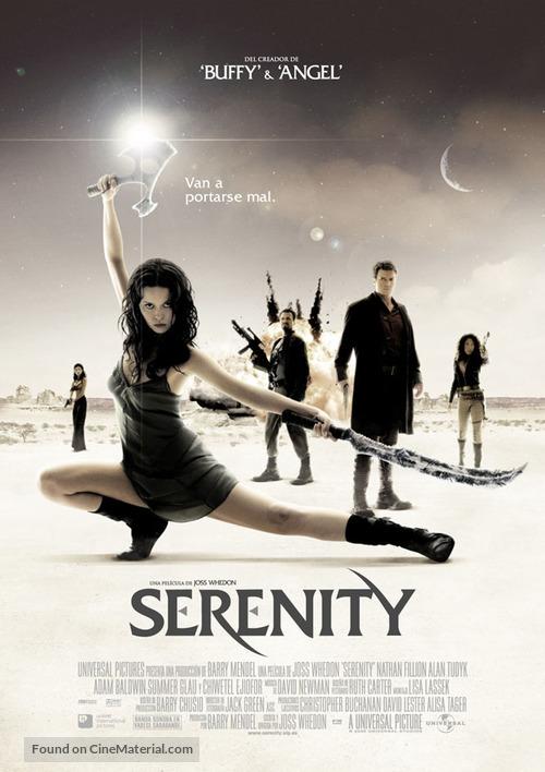 Serenity - Spanish Movie Poster