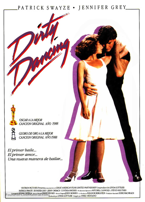 Dirty Dancing - Spanish Movie Poster
