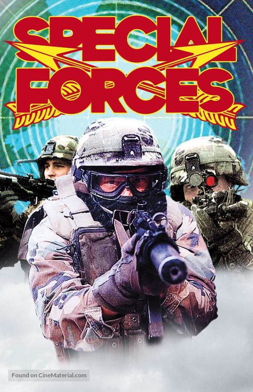 Special Forces - VHS movie cover