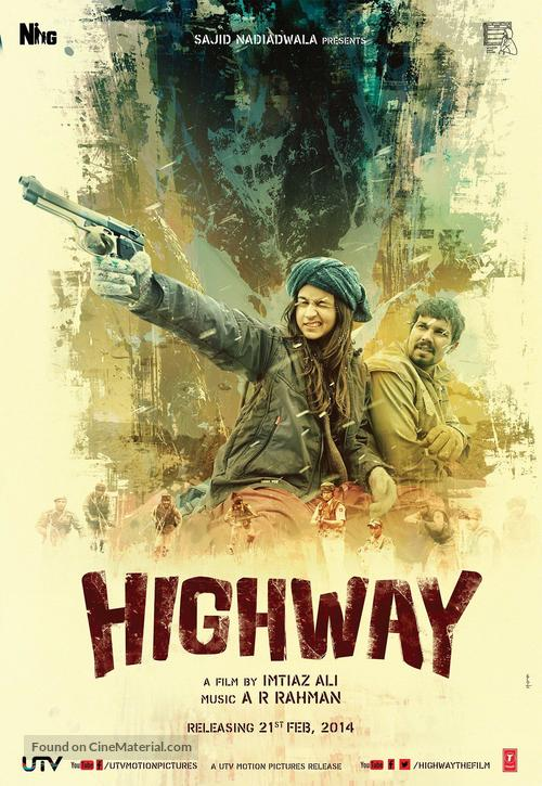 Highway - Indian Movie Poster