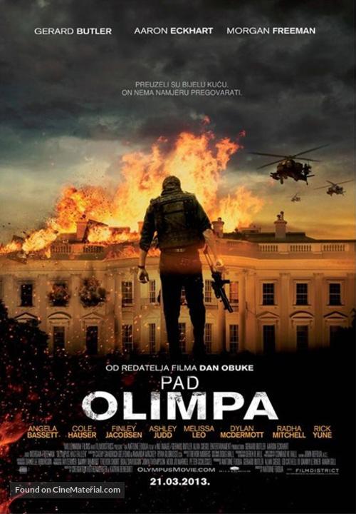 Olympus Has Fallen - Croatian Movie Poster
