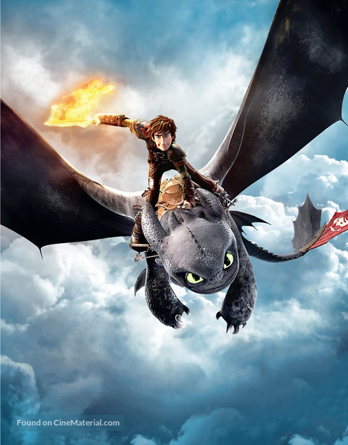 How to Train Your Dragon 2 - Key art