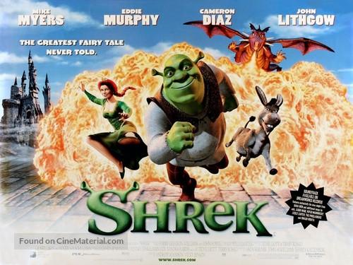 Shrek - British Movie Poster