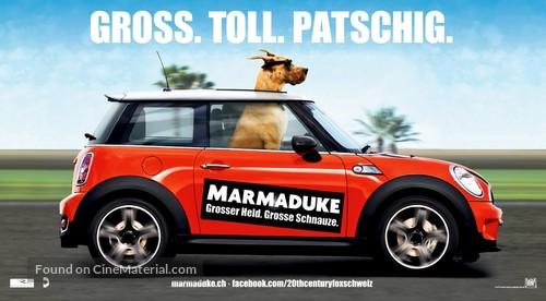 Marmaduke - Swiss Movie Poster