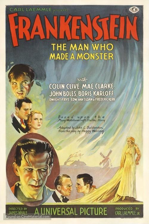 Frankenstein - Theatrical movie poster