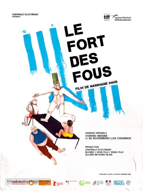 Le fort des fous - French Movie Poster