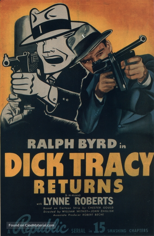 Dick Tracy Returns - Movie Poster