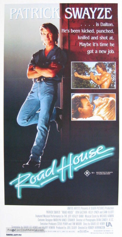 Road House - Australian Movie Poster