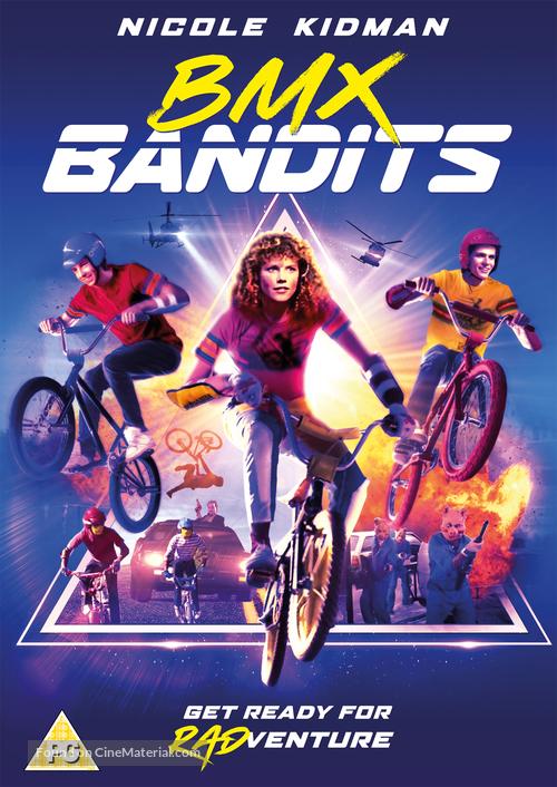 BMX Bandits - British DVD movie cover