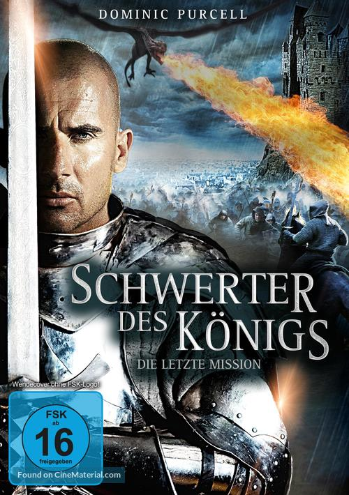 In The Name Of The King 3 The Last Mission 2013 German Dvd Movie Cover