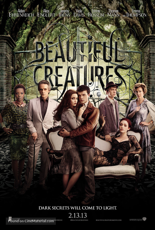 Beautiful Creatures - Movie Poster