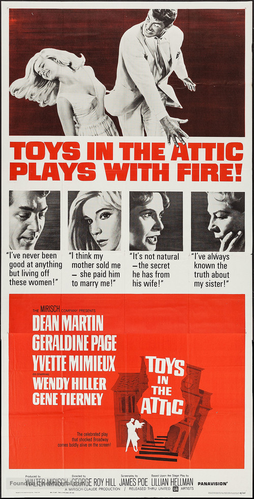 Toys in the Attic - Movie Poster