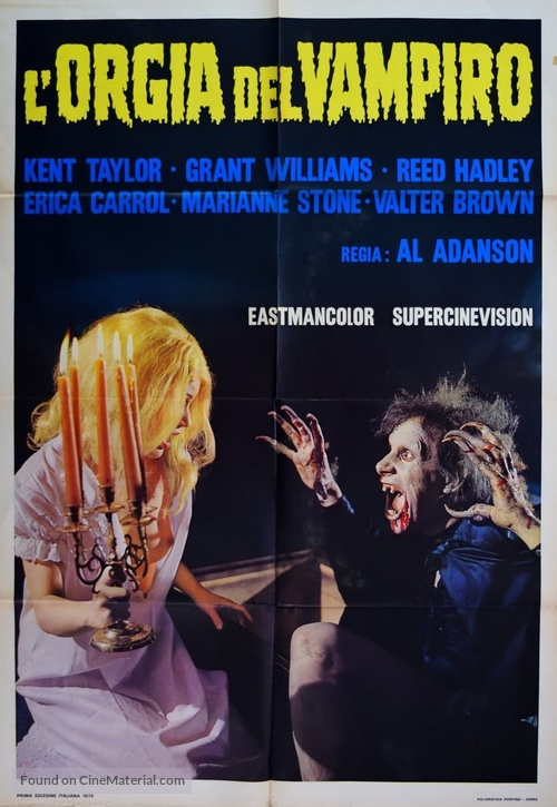 Brain of Blood - Italian Movie Poster