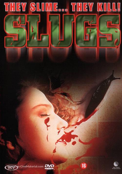 Slugs, muerte viscosa - Dutch DVD movie cover