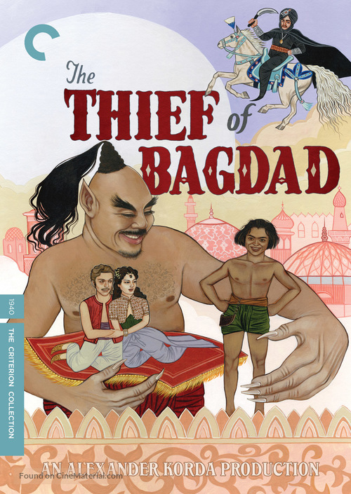 The Thief of Bagdad - DVD movie cover