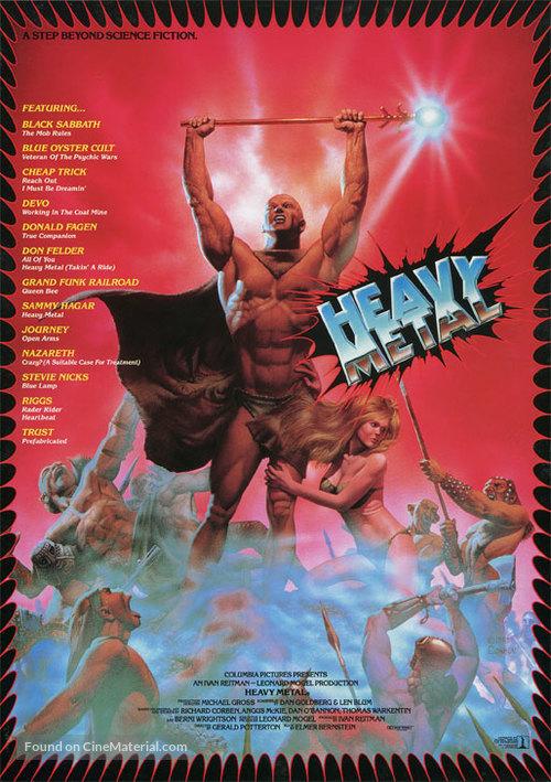 Heavy Metal 1981 Japanese Movie Poster