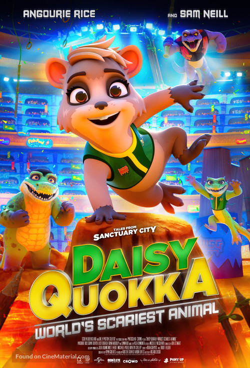 Daisy Quokka: World's Scariest Animal - Australian Movie Poster