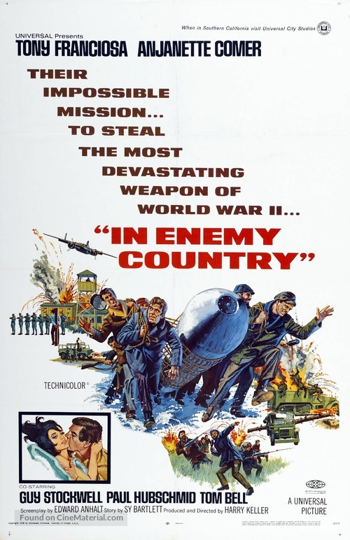 In Enemy Country - Movie Poster