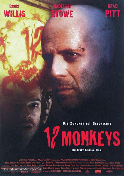 Twelve Monkeys - German Movie Poster