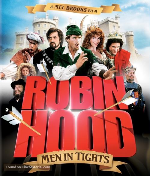 Robin Hood: Men in Tights - Blu-Ray movie cover