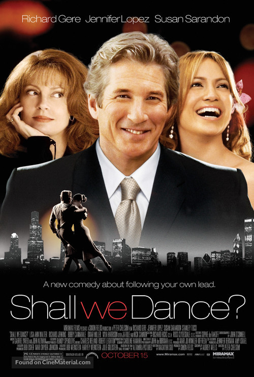 Shall We Dance - Movie Poster