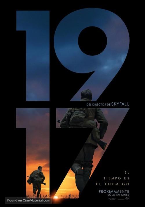 1917 - Chilean Movie Poster