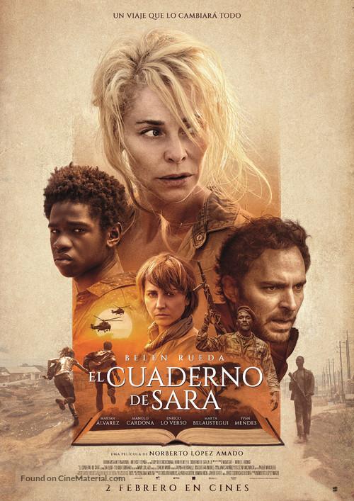 El cuaderno de Sara - Spanish Movie Poster